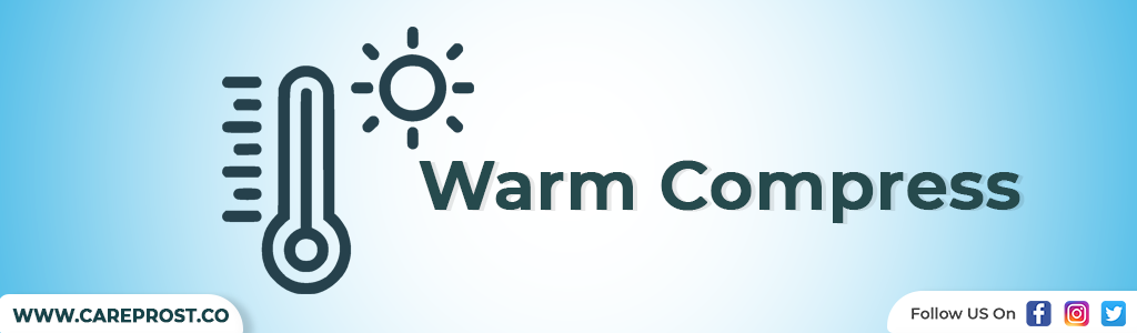 warm compress