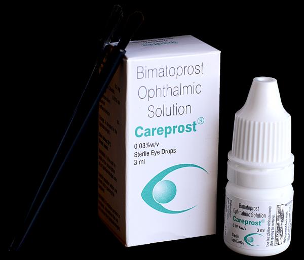 Careprost With Brush Eye Drops