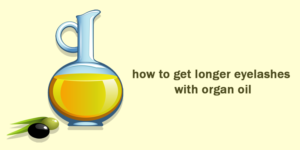 how to get longer eyelashes with Organ oil