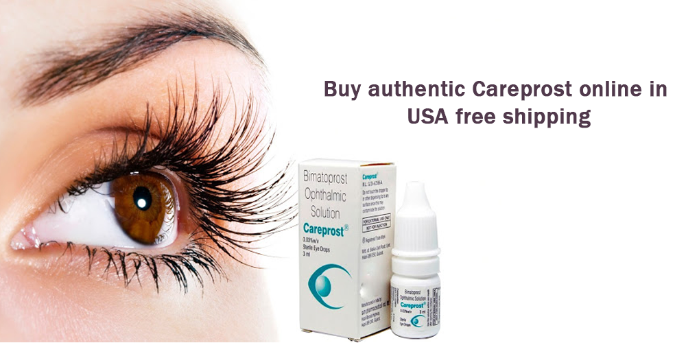 Buy authentic Careprost online in USA free shipping