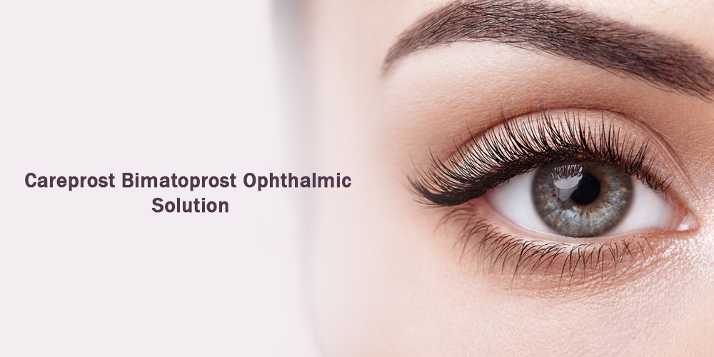 Careprost bimatoprost ophthalmic solution